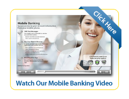 Mobile Banking Video Thumbnail