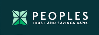 Peoples Trust & Savings Bank Logo