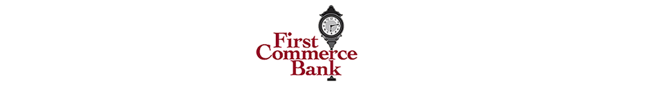 First Commerce Bank Logo