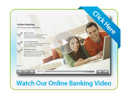 Flash Content/Image for Online Banking Video