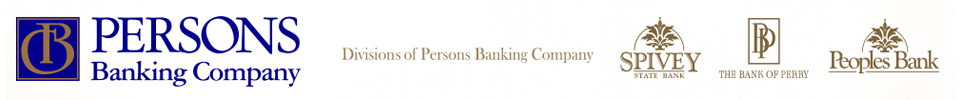 Persons Banking Company Logo